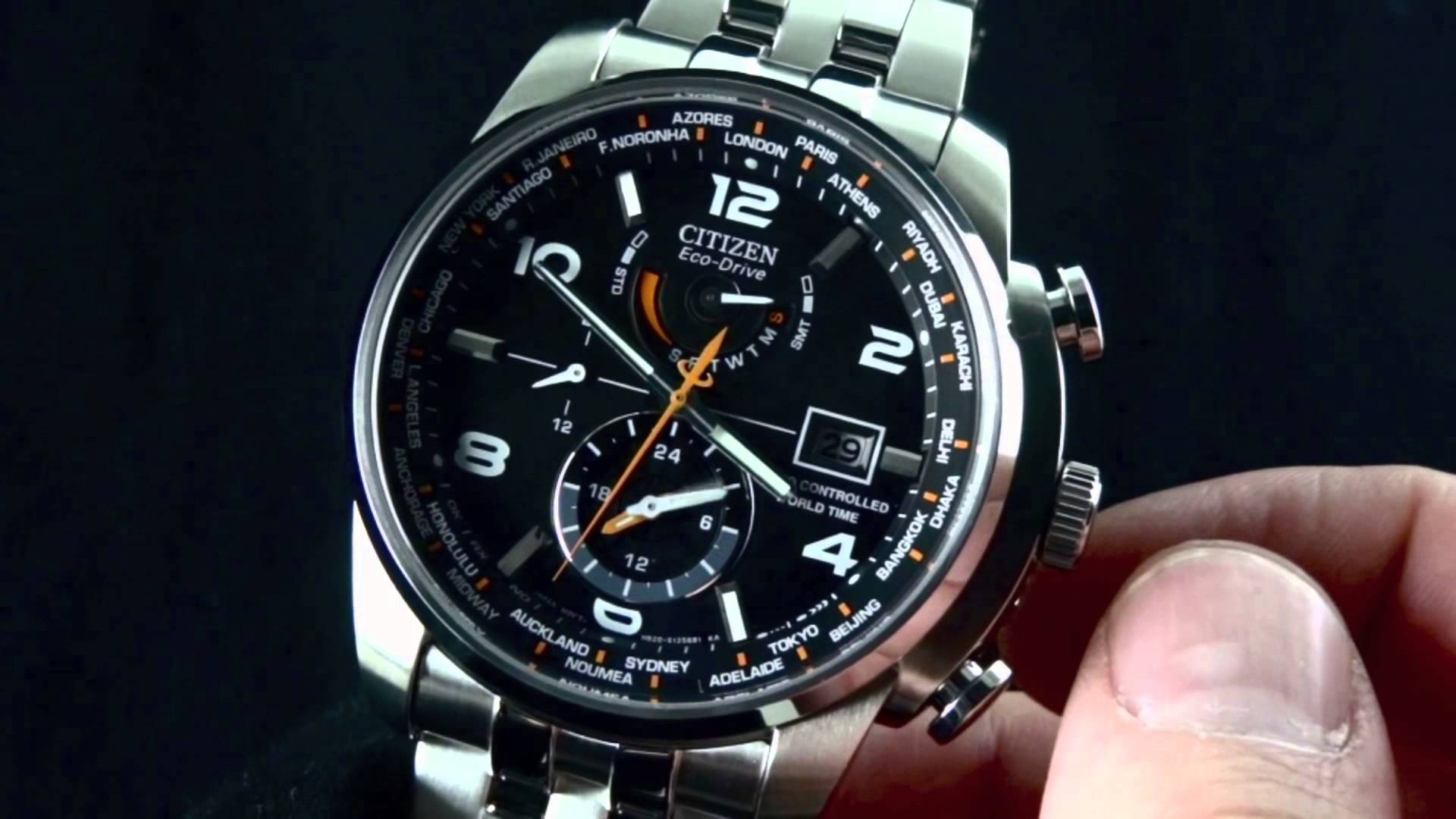 Citizen AT9010-52E World Time A-T Watch Review