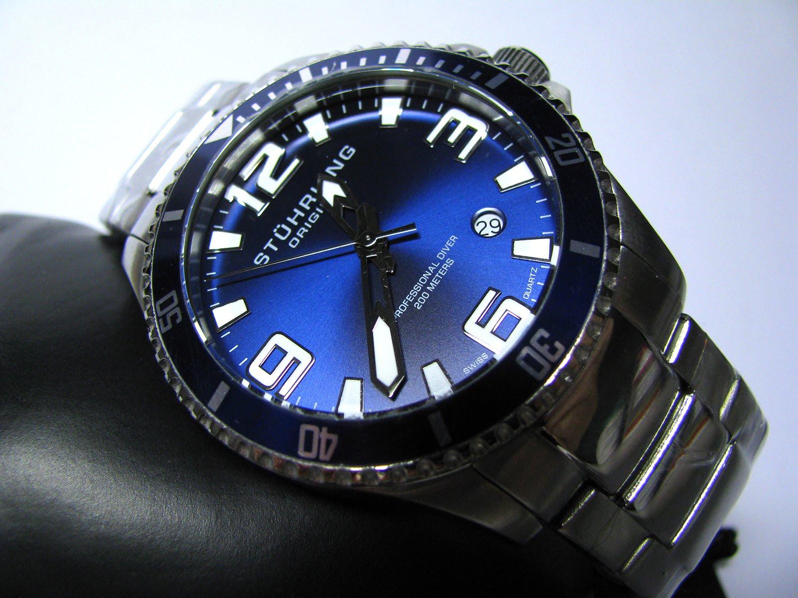 """Stuhrling Original Men's 395.33U16 """"Aquadiver Regatta"""" Watch Review"""