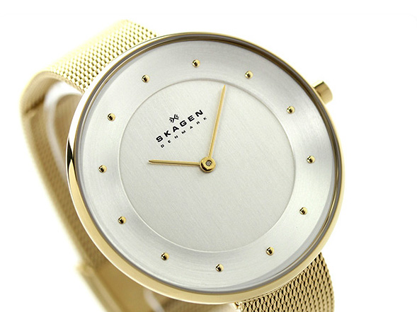 Image result for lady wearing a skagen watch