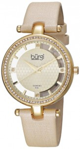 Burgi Women's BUR104YG Round Watch Review