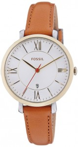 Fossil Women's ES3737 Jacqueline Gold-Tone Watch Review
