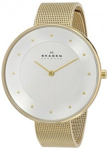 Skagen Women's SKW2141 Gitte Gold-Tone Watch Review