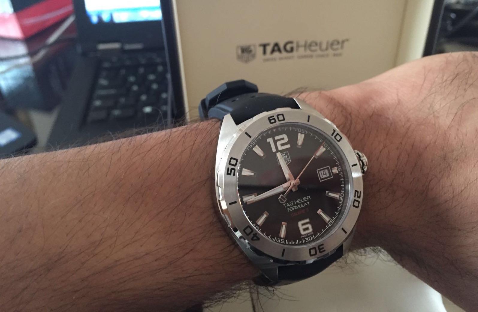 TAG Heuer Men's WAZ2113.BA0875 Watch Review