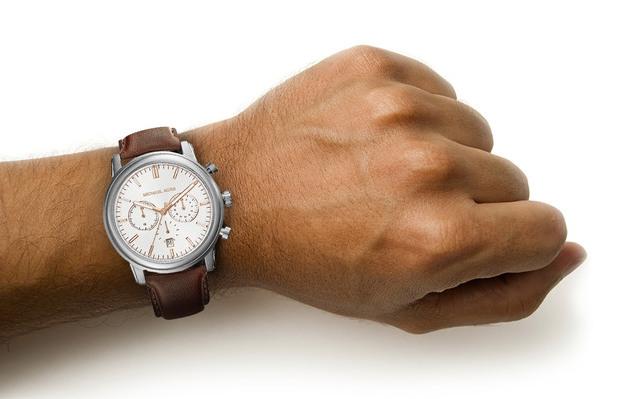 Michael Kors MK8372 Pennant Brown Watch Review