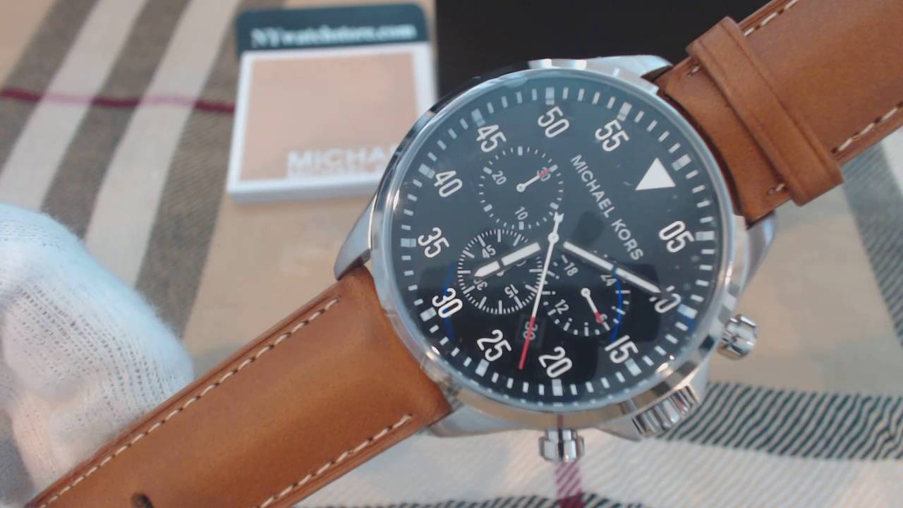 fbd3fcdef Michael Kors MK8362 Gage Brown Watch Review - WatchReviewBlog