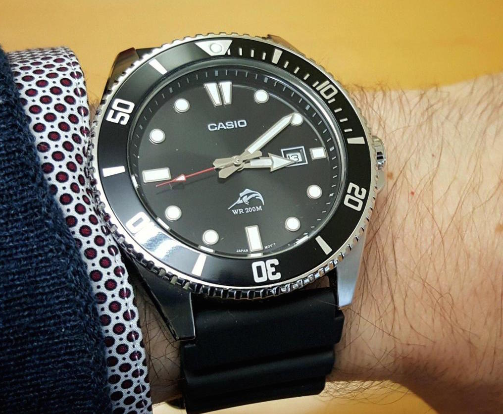 Casio MDV106-1A Stainless Steel Watch Review