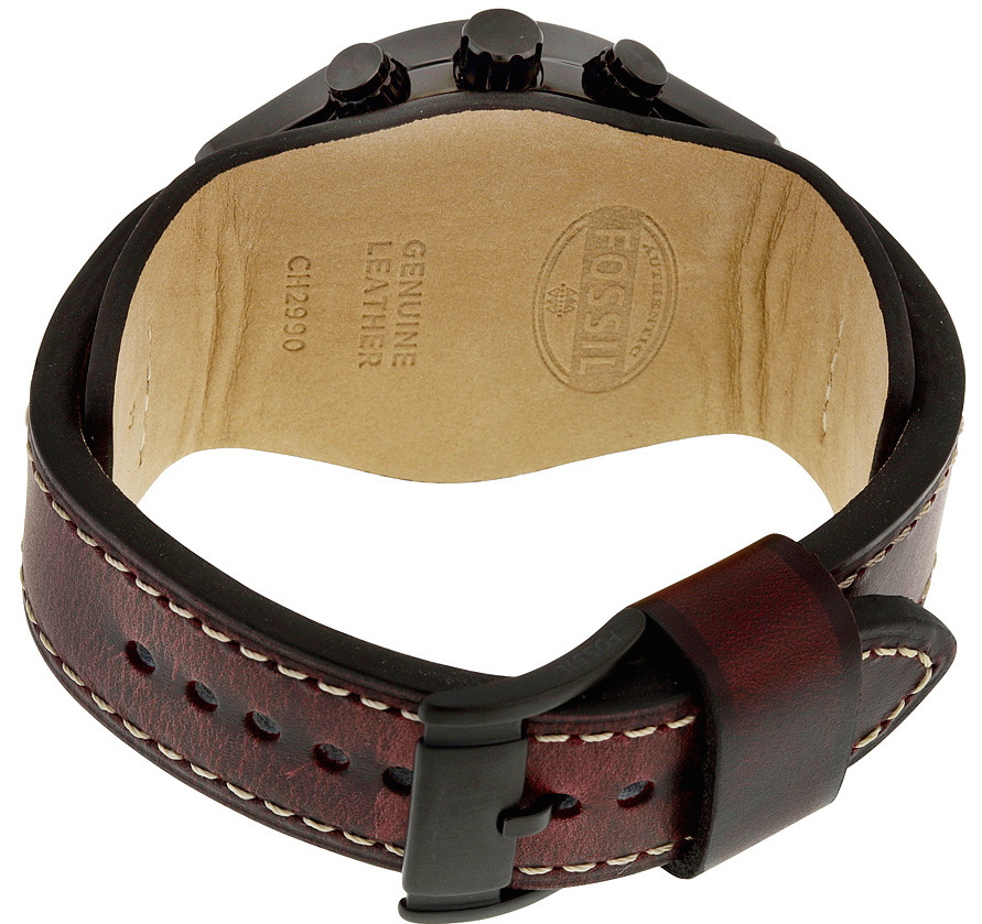 back photo and leather strap