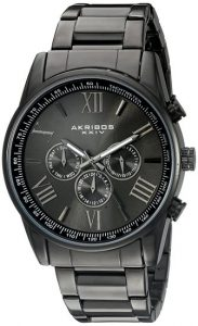 Akribos XXIV Men's AK736BK Round Watch Review