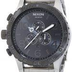 Nixon A083-1762 Mens The 51-30 Chrono Silver Gunmetal Watch Review