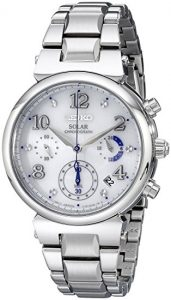 Seiko Women's SSC863 Analog Display Silver Watch Review