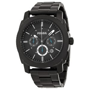 Fossil Men's FS4552 Machine Black Chronograph Watch Review
