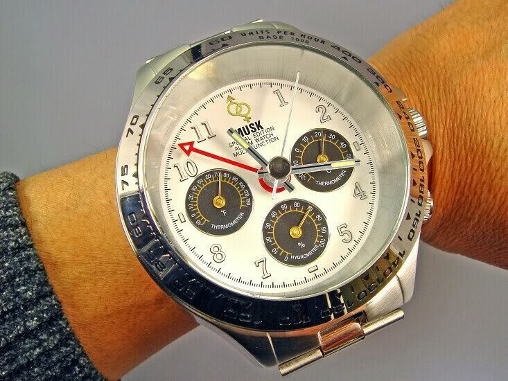 Modern Mens Watches With A Big Face