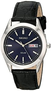 Seiko Men's SNE049 Stainless Steel Solar Watch Review