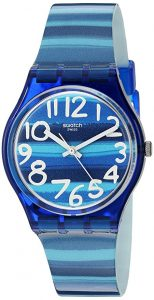 Swatch Unisex GN237 Blue Plastic Watch Review