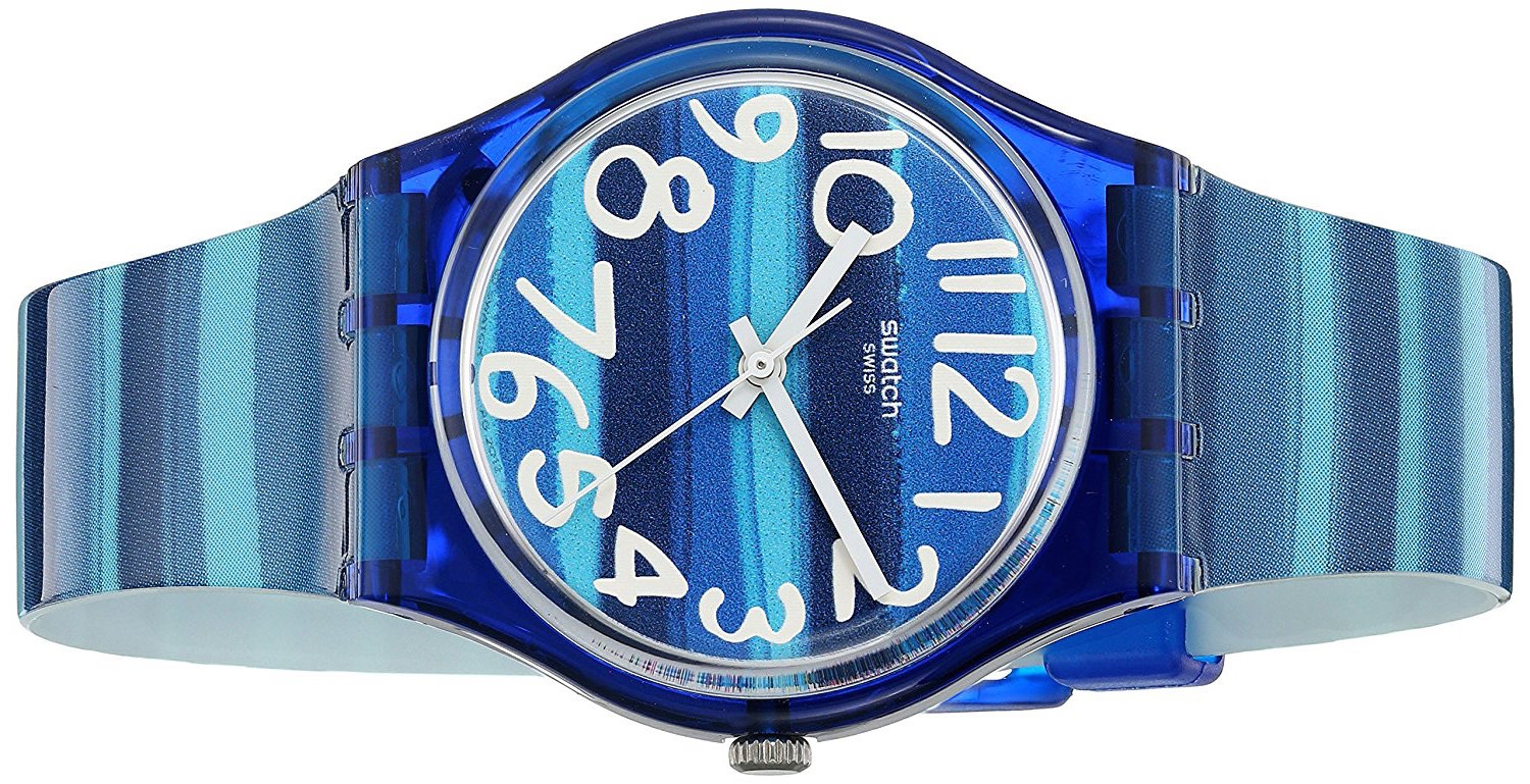 Swatch Linajola GN237 Blue Plastic Watch Review