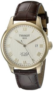 Tissot Men's T41.5.413.73 Le Locle Skeleton-Back Watch Review