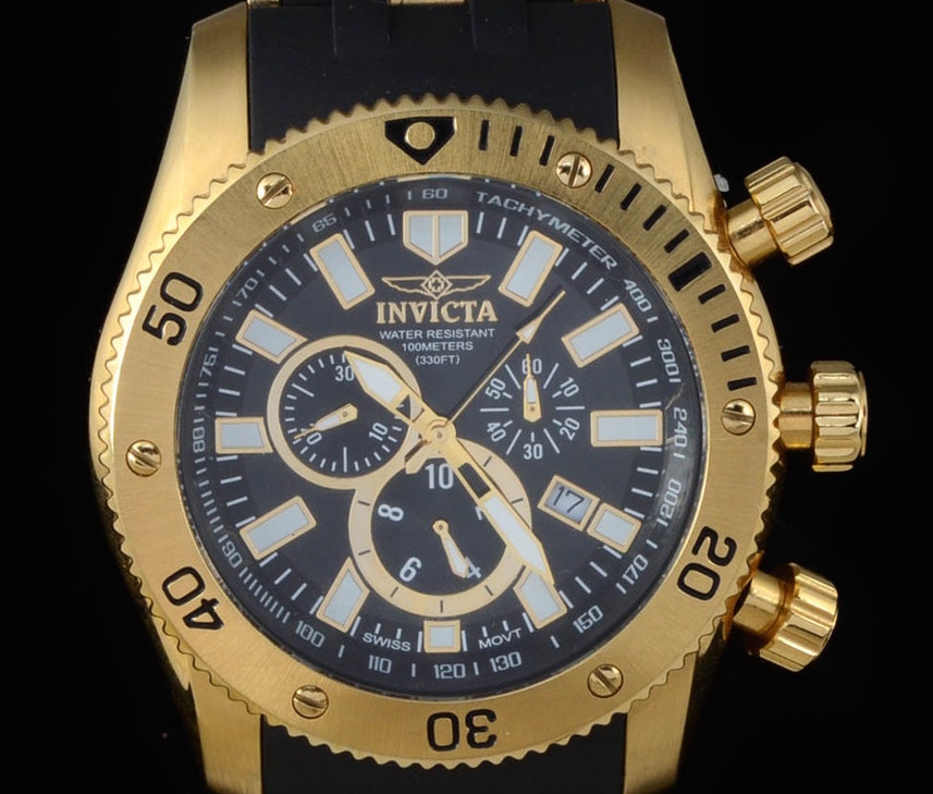 Invicta Men's 0140 Sea Spider Collection Watch Review