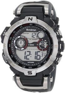 Armitron Sport Men's 408231RDGY Digital Watch Review
