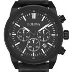 Bulova 98B280 Men's Black IP Chronograph Watch Review