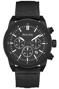 Bulova 98B280 Men's Black IP Chronograph Watch Review