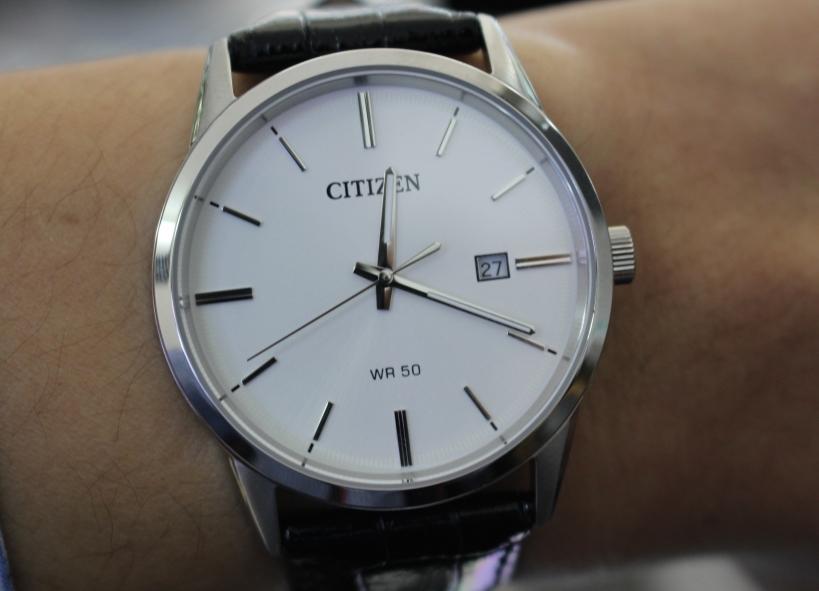 Stainless Review Citizen Bi5000 Watchreviewblog Watch Quartz 01a Steel 4jLR53A