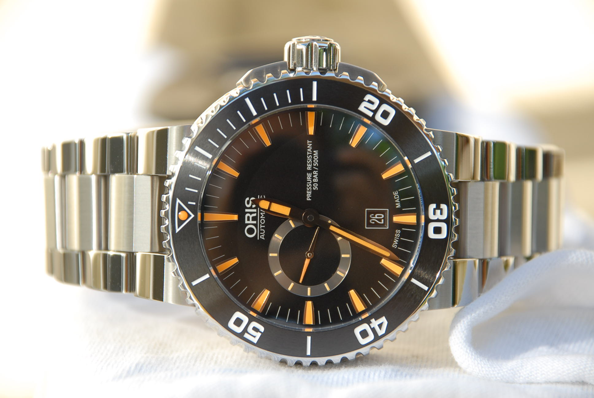 Oris Aquis 74376734159MB Automatic Watch Review