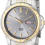 Seiko Men's SNE098 Solar Analog Watch Review