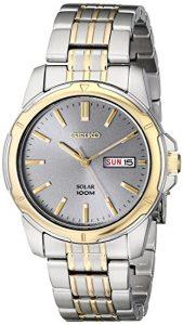 Seiko Men's SNE098 Solar Analog Watch Review