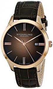 Stuhrling Original Men's 490.3345K14 Cuvette II Watch Review