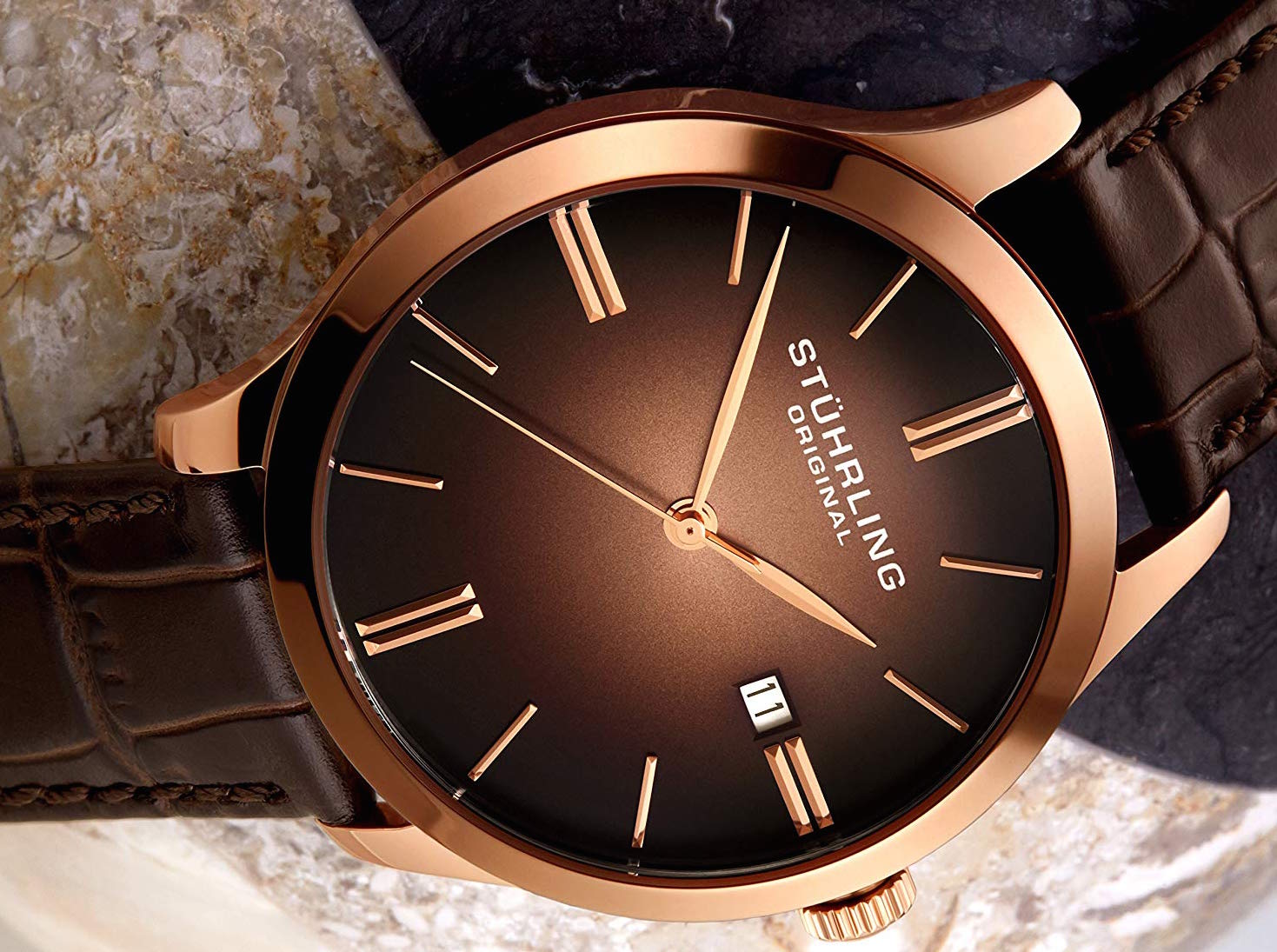Stuhrling Original 490.3345K14 Cuvette II Watch Review
