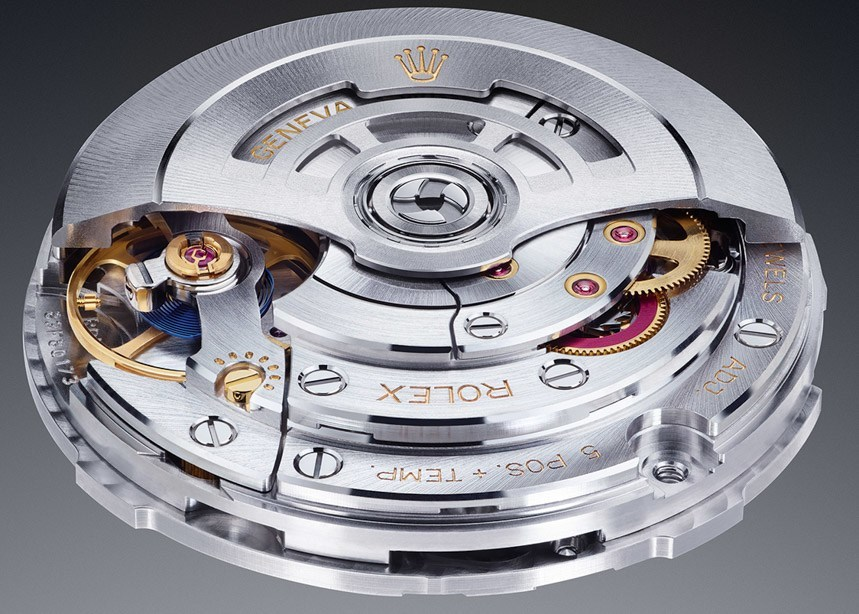 Swiss Rolex Movement