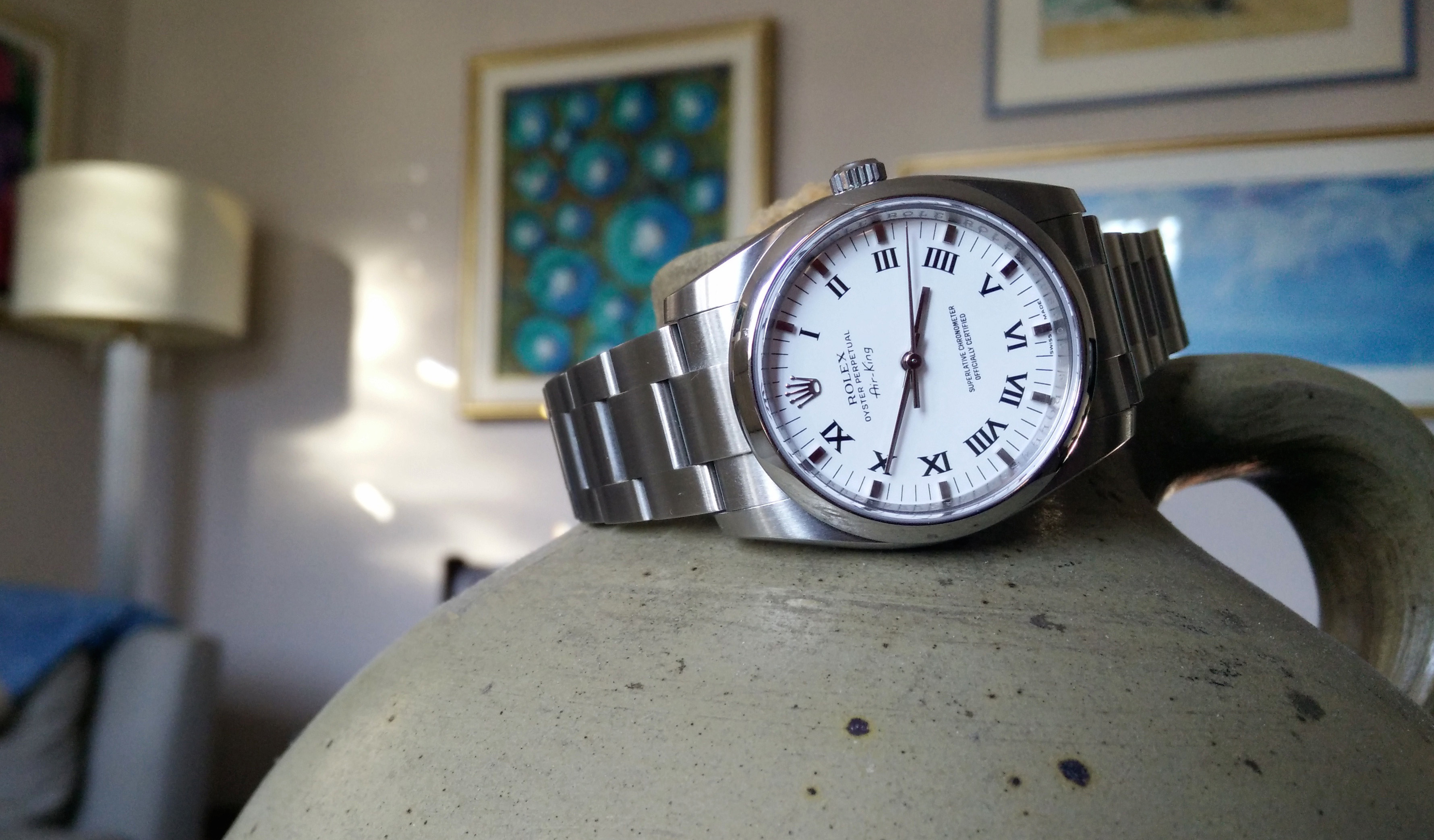 Rolex Air-King 114200 White Roman Numeral Dial Review