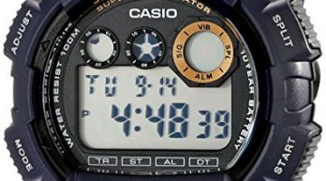 Casio Men's W735H-2AVCF Super Illuminator Watch Review