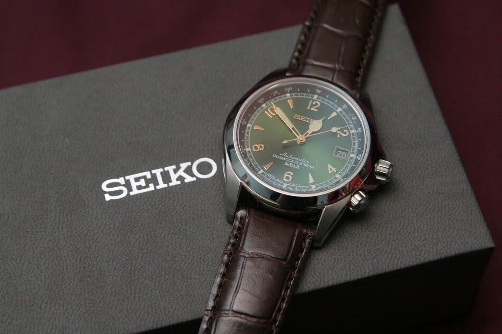 Seiko Alpinist SARB017