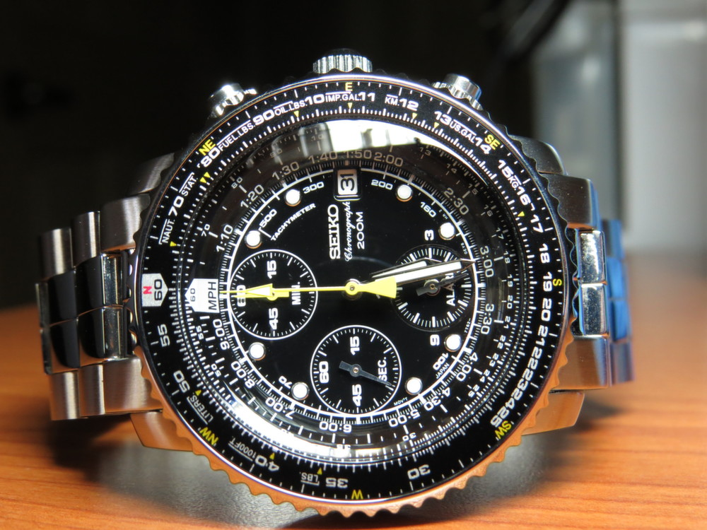 Seiko Men's SNA411 FlightMaster Alarm Watch Review