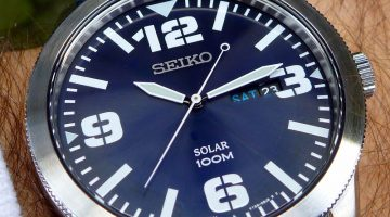 Seiko Men's SNE329 Sport Solar-Powered Watch Review
