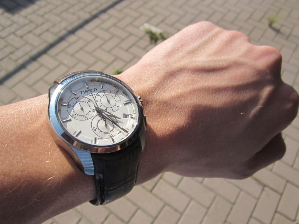 photo on the wrist