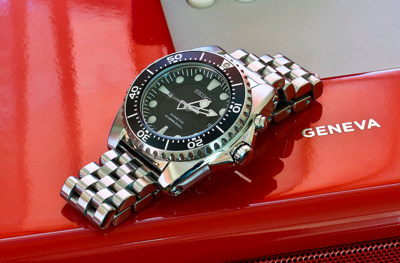 Best Seiko Kinetic Watches