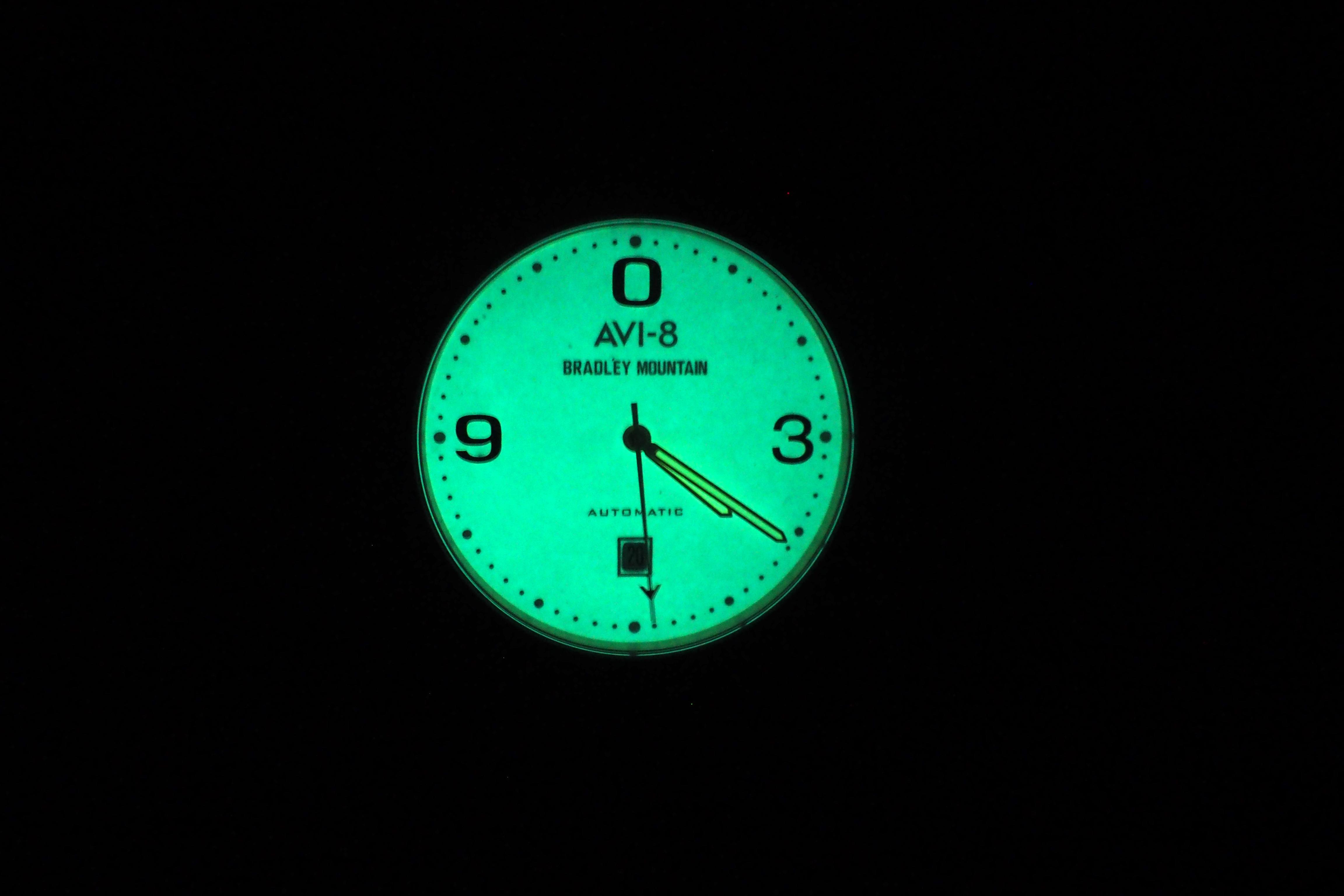 Full dial lume