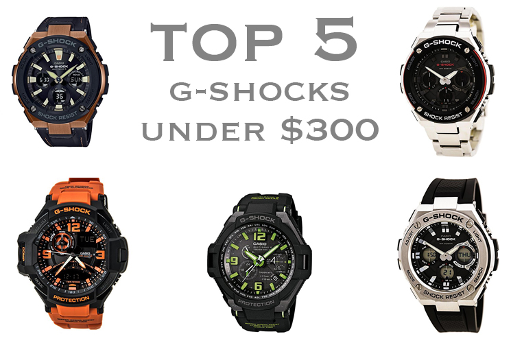 Best Casio G-Shocks for Under $300