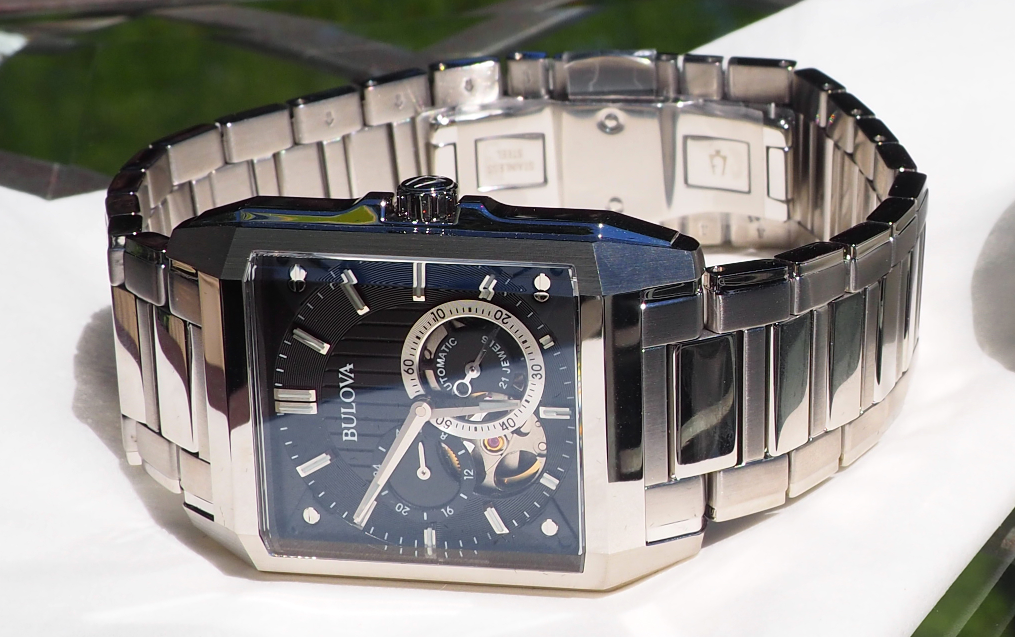 1f0193c67541 Bulova 96A194 Automatic Watch Review - WatchReviewBlog