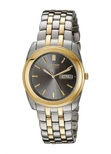 Old fashion two-tone citizen watch