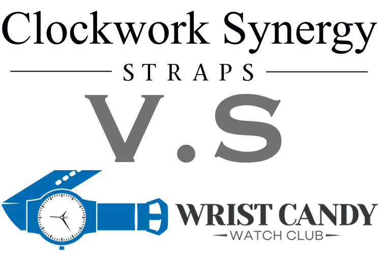 Clockwork Synergy Straps Vs Wrist Candy Watch Club