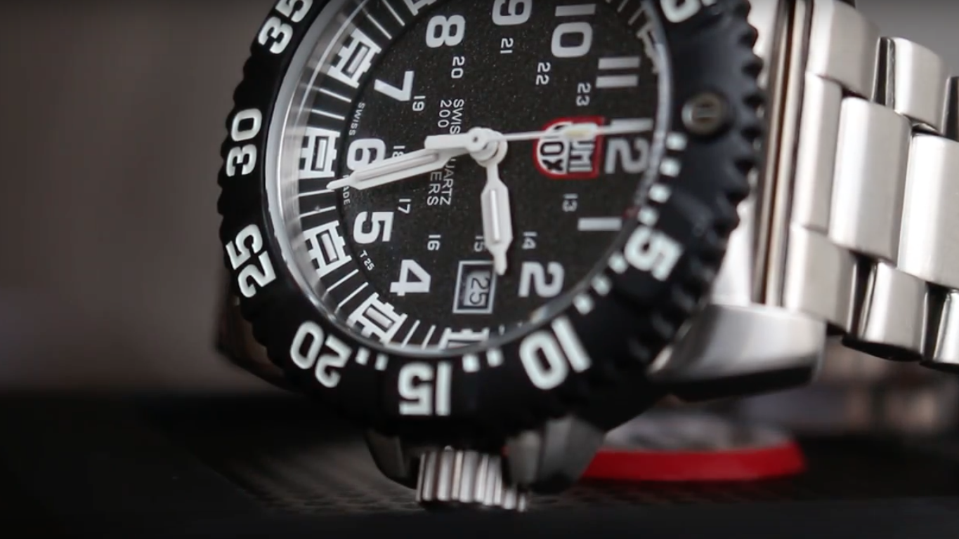 Case & crown of Luminox