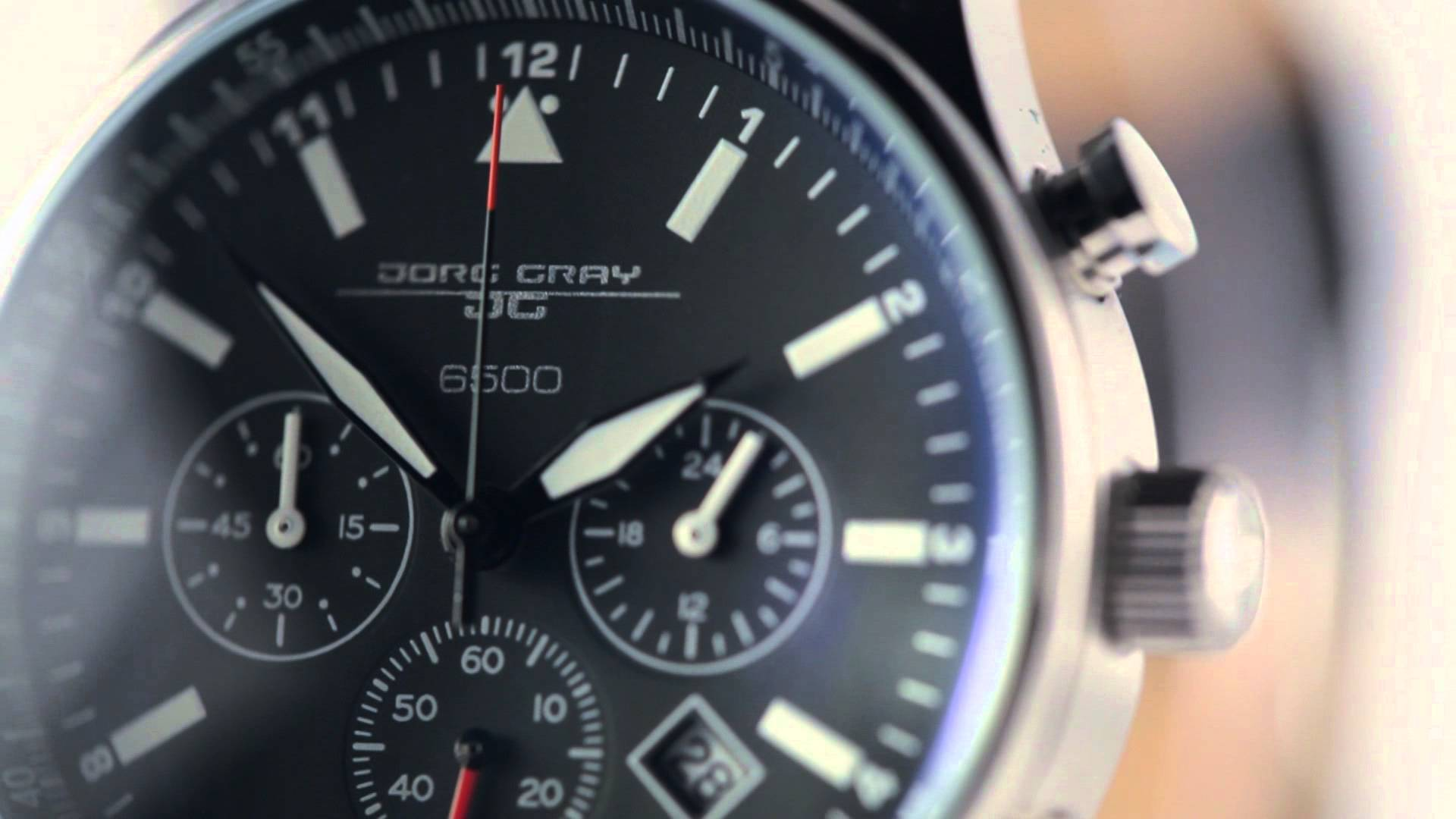 Jorg Gray JG6500 Analog Display Watch Review