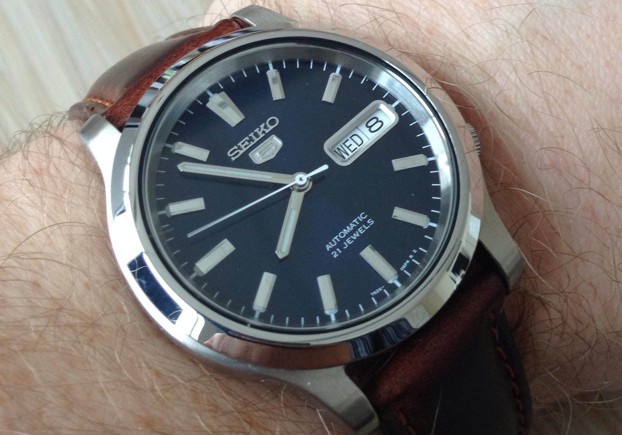 Seiko 5 Snk793 Watch Review Watchreviewblog