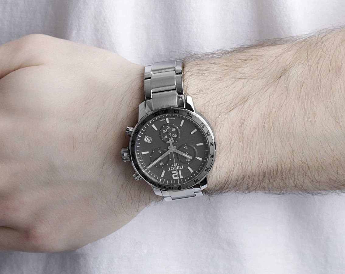 Fashion photo on the wrist