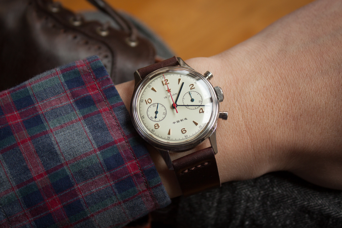 strap - brown leather or NATO