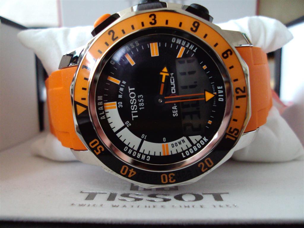 Orange Sea-Touch Photo