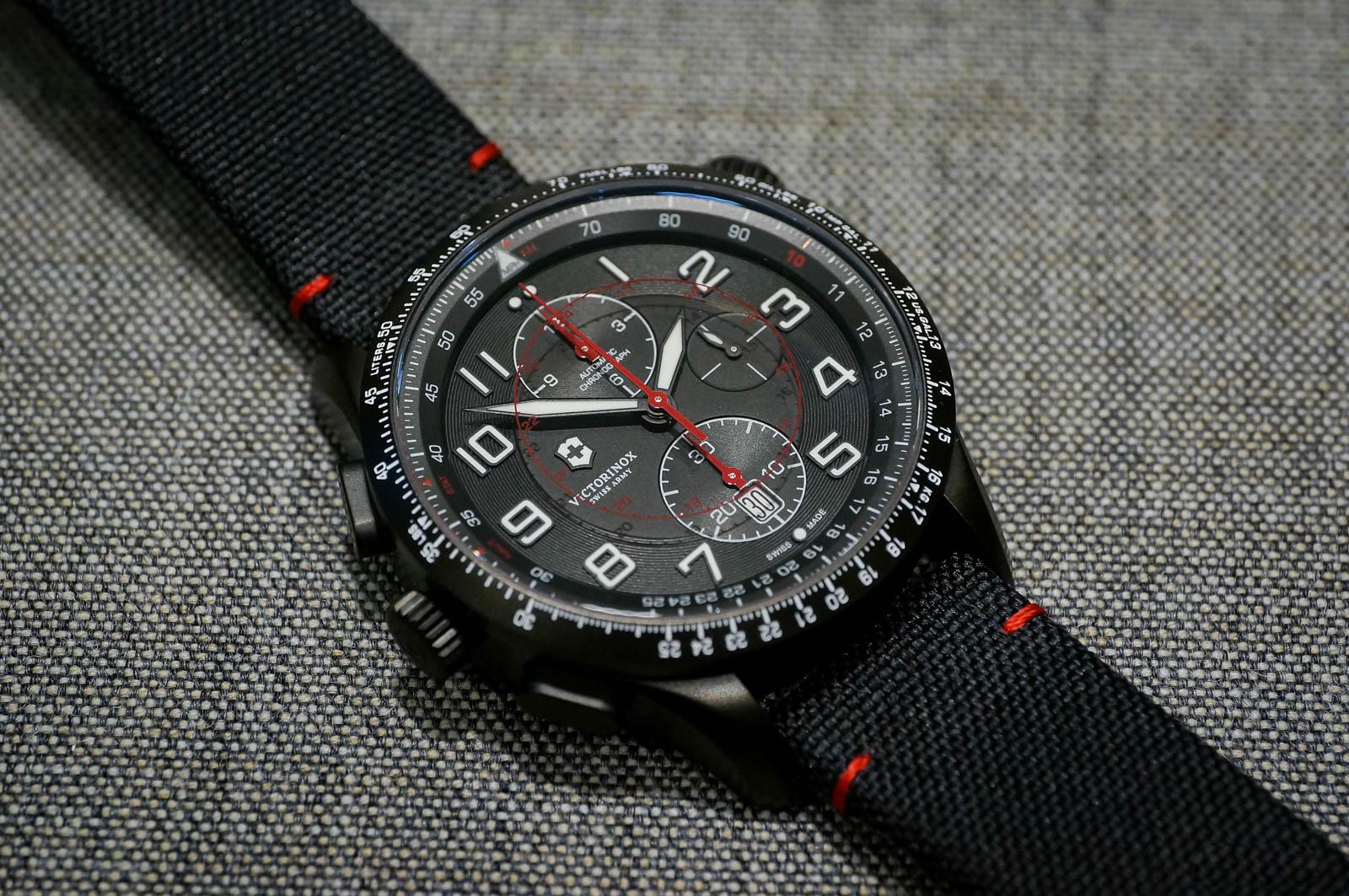 Victorinox Airboss Mach 9 Black Edition Watch Review